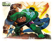 Bruce Banner (Earth-616) and Fantastic Four (Earth-616) from Fall of the Hulks Gamma Vol 1 1 0001