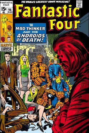 Fantastic Four Vol 1 96