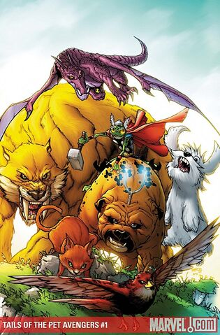 File:Tails of the Pet Avengers Vol 1 1 Textless.jpg