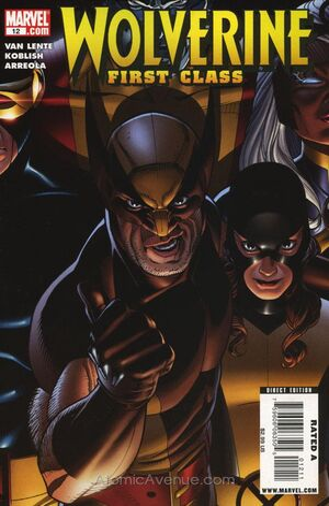 Wolverine First Class Vol 1 12