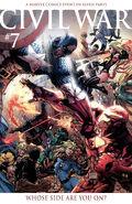 Civil War Vol 1 7 Turner Variant