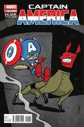 Captain America Vol 7 16.NOW Animal Variant