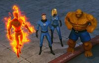 Fantastic Four (Earth-TRN258) from Marvel Heroes (video game) 001