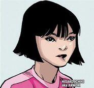 Hisako Ichiki (Earth-1610) from Ultimate Comics X-Men Vol 1 25
