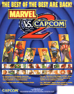 Marvel vs. Capcom 2 New Age of Heroes US Flyer
