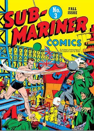 Sub-Mariner Comics Vol 1 3
