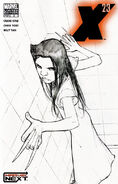 X-23 Vol 1 2 Sketch Variant