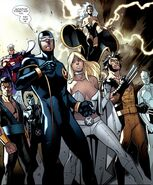 X-Men Team from X-Men Vol 3 15