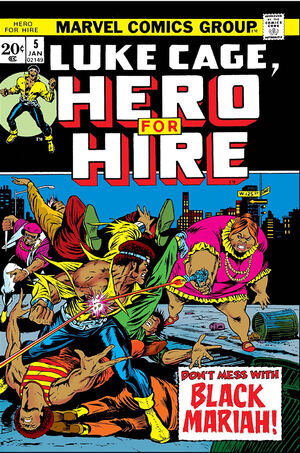 Hero for Hire Vol 1 5