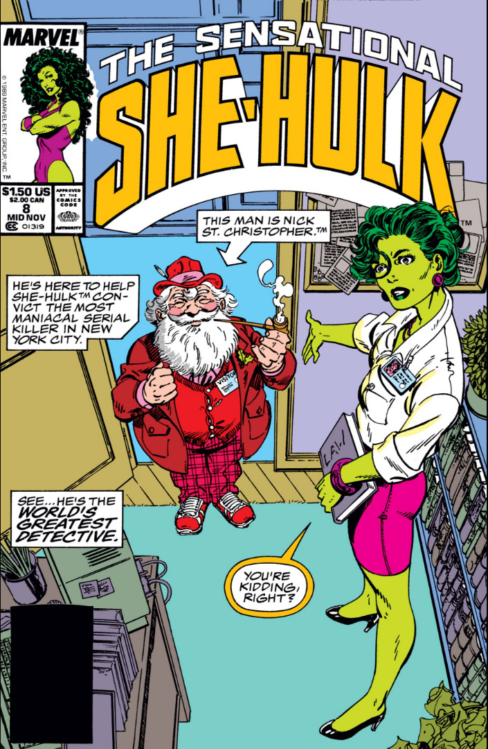 Sensational She-Hulk Vol 1 8