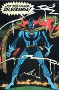 Stephen Strange (Earth-616) third costume from Doctor Strange Vol 1 177