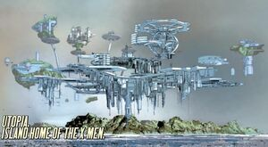 Utopia (X-Men Base) from New Avengers Vol 2 28