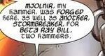 Beta Ray Bill (Earth-97161) from Lockjaw and the Pet Avengers Unleashed Vol 1 2 001