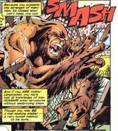 Sasquatch (Beast) (Earth-616) -Alpha Flight Vol 2 6 006