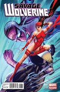 Savage Wolverine Vol 1 6 Campbell Variant