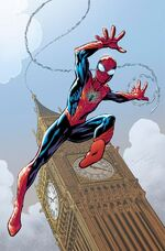 Amazing Spider-Man Vol 4 1 Bagley Variant Textless