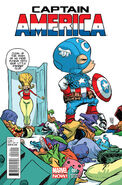 Captain America Vol 7 1 Baby Variant
