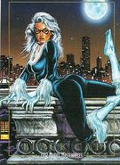 Felicia Hardy (Earth-616) from Marvel Masterpieces Trading Cards 1992 0001
