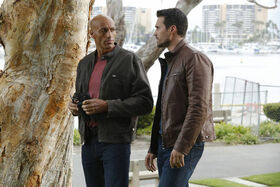 Kebo (Earth-199999) and Grant Ward (Earth-199999) from Marvel's Agents of S.H.I.E.L.D. Season 3 2 001