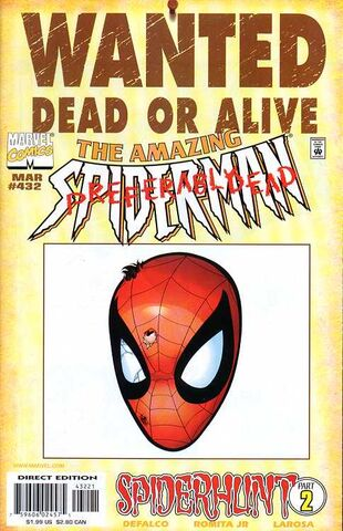 File:Amazing Spider-Man Vol 1 432 Wanted Poster Variant.jpg