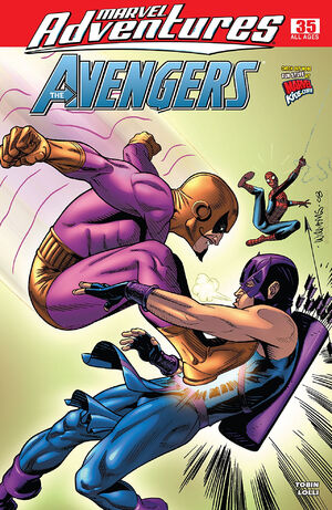 Marvel Adventures The Avengers Vol 1 35
