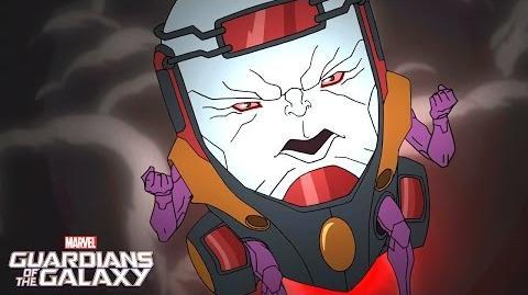 Star-Lord vs. Modok! Marvel Guardians of the Galaxy Disney XD