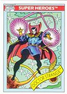 Stephen Strange (Earth-616) from Marvel Universe Cards Series I 0001