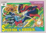 Peter Parker vs. Jason Macendale, Jr. (Earth-616) from Marvel Universe Cards Series II 0001