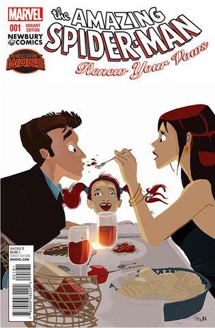 File:Amazing Spider-Man Renew Your Vows Vol 1 1 Newbury Comics Exclusive Variant.jpg