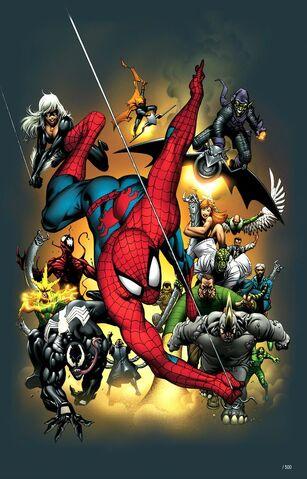 File:Official Handbook of the Marvel Universe Spider-Man 2004 Vol 1 1 Textless.jpg