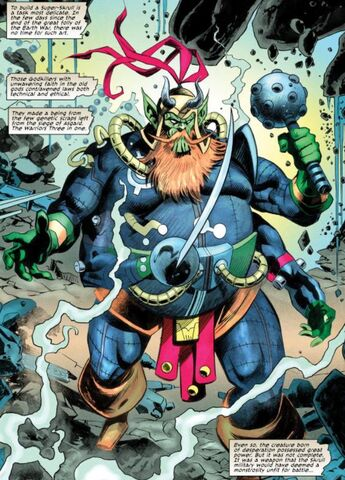 File:S'Kaan (Earth-616) from Secret Invasion Aftermath Beta Ray Bill - The Green of Eden Vol 1 1 0001.jpg