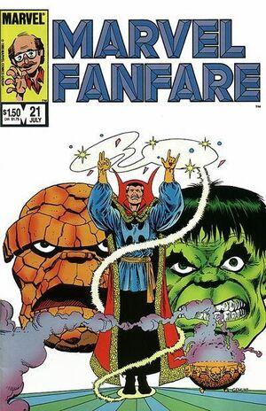 Marvel Fanfare Vol 1 21