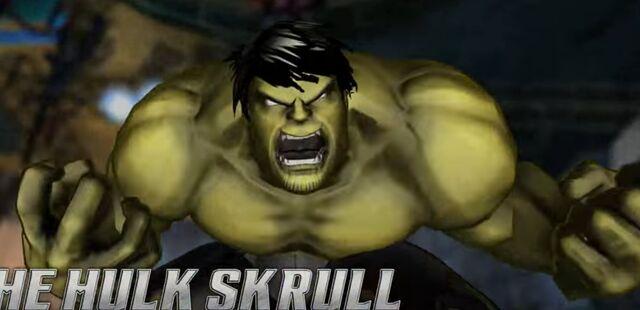 File:Bruce Banner (Skrull) (Earth-TRN219) from Marvel Avengers Battle for Earth 0001.jpg