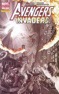 Avengers Invaders Vol 1 9 Sketch Varaint