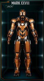 Iron Man Armor MK XXVIII (Earth-199999)