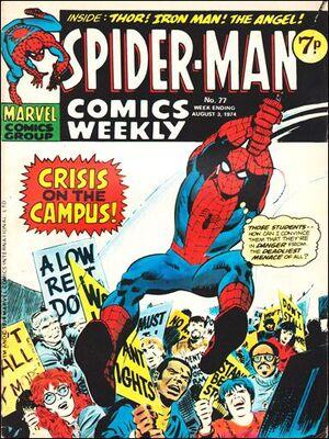 Spider-Man Comics Weekly Vol 1 77