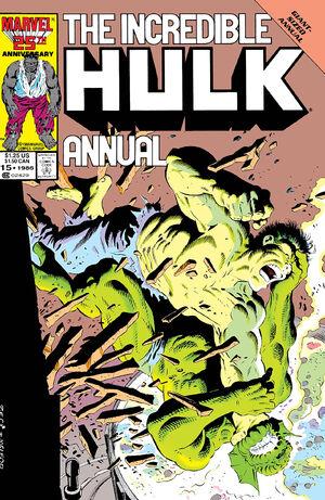 Incredible Hulk Annual Vol 1 15