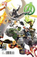 Avengers Vol 5 18 50 Years of Avengers Variant