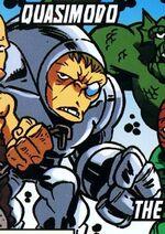 Quasi-Motivational Destruct Organism (Earth-11911) from Super Hero Squad Spectacular Vol 1 1