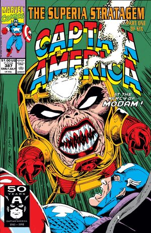 Captain America Vol 1 387
