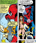 Spider-Man and Howard the Duck from Howard the Duck Vol 1 1 001