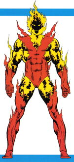 Starbolt (Earth-616) from Official Handbook of the Marvel Universe Master Edition Vol 1 22 001