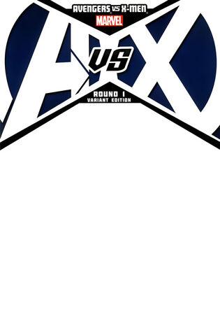 File:Avengers vs. X-Men Vol 1 1 Blank Variant.jpg
