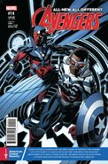 All-New, All-Different Avengers Vol 1 14 Prostate Awareness Month Variant
