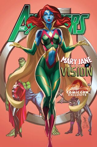 File:Avengers Vol 7 8 JSC Comic Con Exclusive Mary Jane Variant.jpg