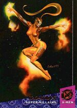 Rayna Piper (Earth-616) from 1994 Ultra X-Men Trading Cards 0001