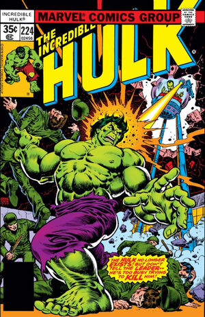 Incredible Hulk Vol 1 224