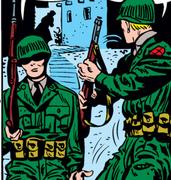Korea from Captain America Comics Vol 1 78 001