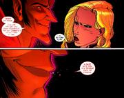 Mephisto (Earth-616) Amara Aquilla (Earth-616) New Mutants Vol 3 30