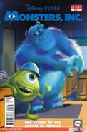 Monsters, Inc. Vol 1 2 Solicit